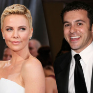 Charlize Theron and Fred Savage