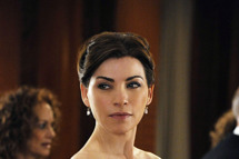 """""""Death of a Client""""--Alicia (Julianna Margulies) is forced to leave an event to help the police when a client of hers is murdered, on THE GOOD WIFE, Sunday March 24 (9:00-10:00 PM, ET/PT) on the CBS Television Network. Photo: Jeffrey Neira/CBS ?'??2013 CBS Broadcasting, Inc. All Rights Reserved"""
