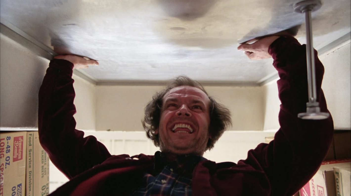 an examination of the story of jack torrance in the movie the shinning by stanley kubrick All of stanley kubrick's films – be it 'the killing' or 'eyes wide shut' – demand to be seen on a big screen they're about people trapped in huge, indifferent machines gone wrong.