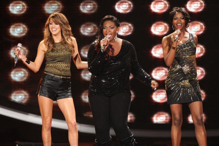 Angie Miller, Candice Glover and Amber Holcomb on AMERICAN IDOL