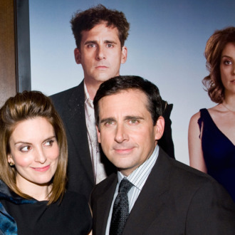 Tina Fey and Steve Carell attend the