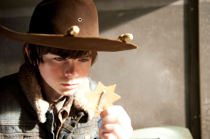 Carl Grimes (Chandler Riggs) - The Walking Dead - Season 3, Episode 16