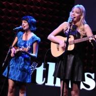 "Kate Micucci, Riki Landhome, Garfunkel & Oates==Glamour presents ""These Girls"" at Joe's Pub==Joe's Pub, NYC==October 08, 2012."