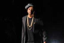 Jay-Z attends YouTube 2012 Upfronts Presentation at Beacon Theatre on May 2, 2012 in New York City.