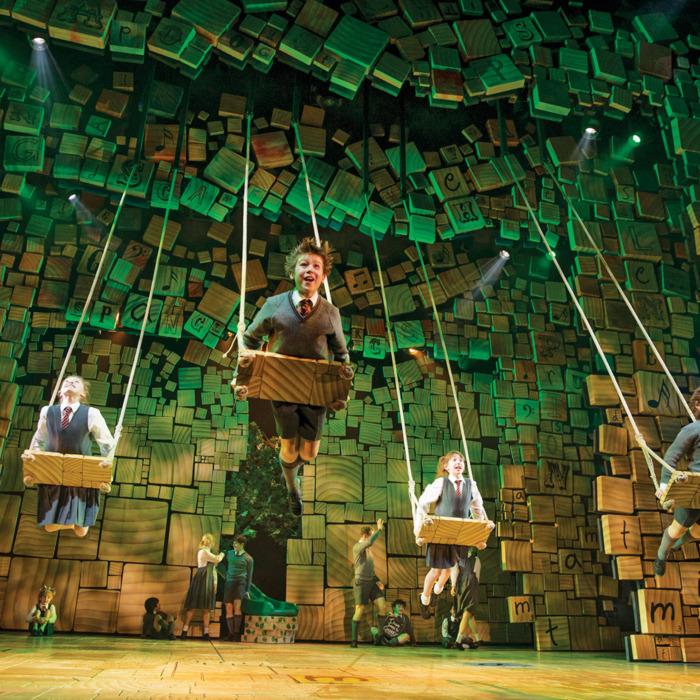 Matilda, at the Sam S. Shubert Theatre.