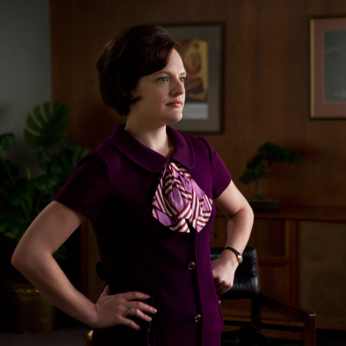 Peggy Olson (Elisabeth Moss) - Mad Men - Season 6, Episode 3 - Photo Credit: Ron Jaffe/AMC