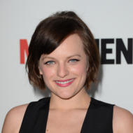 LOS ANGELES, CA - MARCH 20:  Actress Elisabeth Moss arrives at the Premiere of AMC's 'Mad Men' Season 6 at DGA Theater on March 20, 2013 in Los Angeles, California.  (Photo by Jason Merritt/Getty Images)