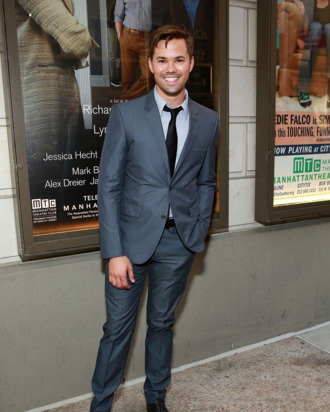 Actor Andrew Rannells attends the