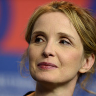"""US French actress Julie Delpy attends a press conference for the film """"Before Midnight"""" presented in the Berlinale Competition of the 63rd Berlin International Film Festival in Berlin on February 11, 2013."""