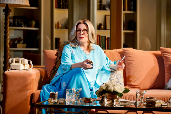 """Photo: BETT MIDLER in """"I'LL EAT YOU LAST: A Chat with Sue Mengers""""; written by John Logan & directed by Joe Mantello; dress rehearsal photographed: Thursday, March 4, 2013; 7:00 PM at Booth Theatre; NYC."""
