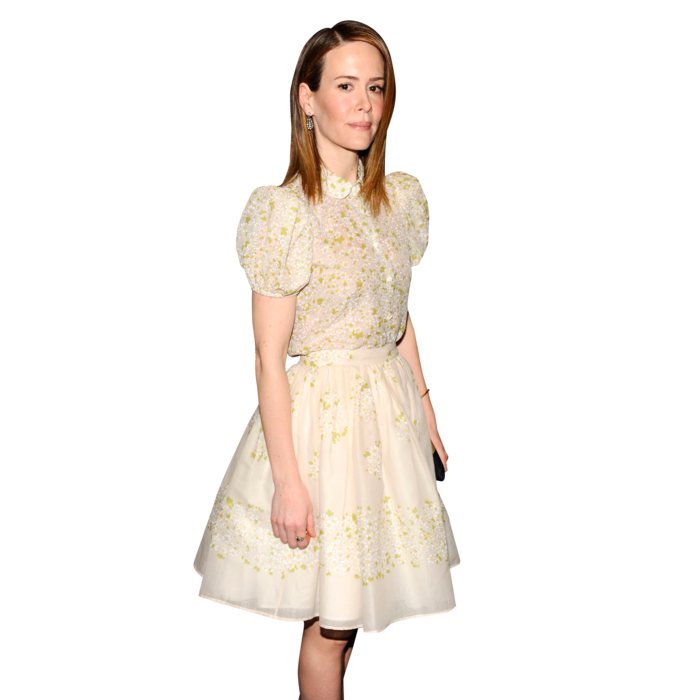 Sarah Paulson==The Cinema Society with FIJI Water & Levi's present a screening of