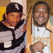 Eazy-E and Ol' Dirty Bastard