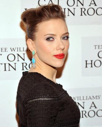 Actress Scarlett Johansson attends the