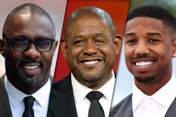 Idris Elba, Forest Whitaker and Michael B. Jordan