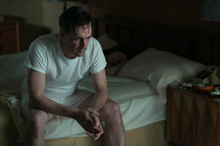 Don Draper (Jon Hamm) - Mad Men _ Season 6, Episode 8 _ 'The Crash' - Photo Credit: Jordin Althaus/AMC