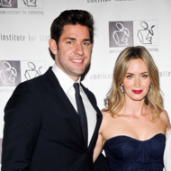 """NEW YORK, NY - JUNE 03:  John Krasinski and Emily Blunt attend the 7th Annual """"Freeing Voices, Changing Lives"""" Benefit Gala at Tribeca Rooftop on June 3, 2013 in New York City.  (Photo by Daniel Zuchnik/Getty Images)"""