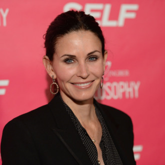 LOS ANGELES, CA - APRIL 30: Actress Courteney Cox attends SELF Magazine and Jennifer Aniston's celebration of Mandy Ingber's new book