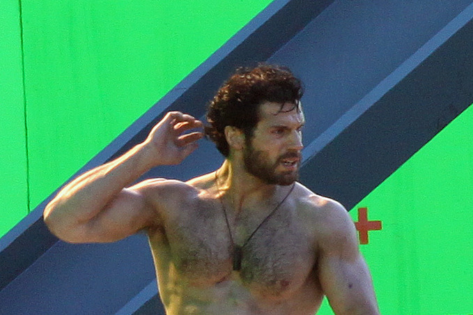 A shirtless Henry Cavill helps the coast guard on rescue mission on the set of 'Superman: Man of Steel' set in Vancouver. A rough and scruffy looking Henry Cavill films by a green-screen scene where he helps rescue workers.          <P>         Pictured: Henry Cavill         <P>         <B>Ref: SPL326940  251011  </B><BR/>         Picture by: R Chiang / Splash News<BR/>         </P><P>         <B>Splash News and Pictures</B><BR/>         Los Angeles:310-821-2666<BR/>         New York:212-619-2666<BR/>         London:870-934-2666<BR/>         photodesk@splashnews.com<BR/>         </P>