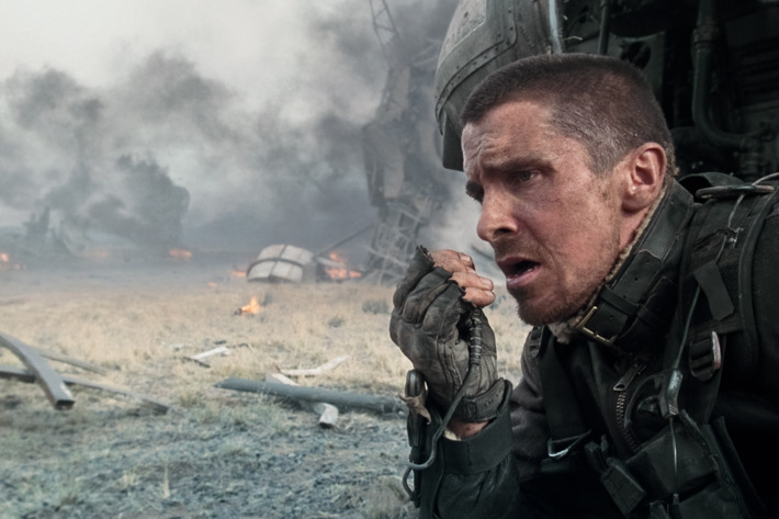 """CHRISTIAN BALE stars as John Connor in Warner Bros. Pictures' action/sci-fi feature """"Terminator Salvation."""""""