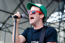 PHILADELPHIA, PA - JUNE 4: Travis Morrison of the Dismemberment Plan performs at the 4th Annual Roots Picnic at the Festival Pier June 4, 2011 in Philadelphia, Pennsylvania. (Photo by Jeff Fusco/Getty Images)