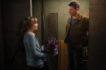 """PARENTHOOD -- """"I'll Be Right Here"""" Episode 406 -- Pictured: (l-r) Mae Whitman as Amber Holt, Matt Lauria as Ryan York -- (Jordin Althaus/NBC)"""