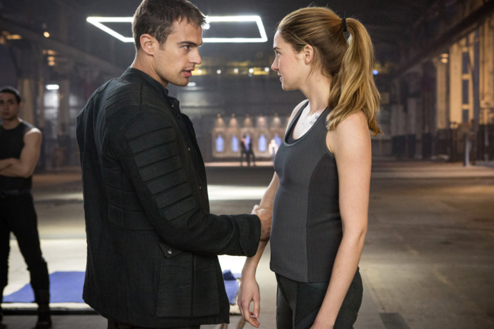 THEO JAMES and SHAILENE WOODLEY star in DIVERGENT