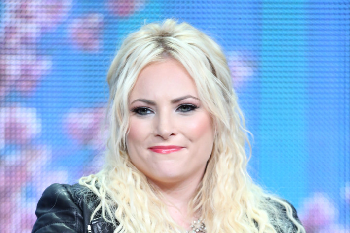 """BEVERLY HILLS, CA - JULY 26:  """"Raising McCain"""" star Meghan McCain speaks onstage during the Pivot TV portion of the 2013 Summer Television Critics Association tour - Day 3 at the Beverly Hilton Hotel  on July 26, 2013 in Beverly Hills, California  (Photo by Frederick M. Brown/Getty Images)"""