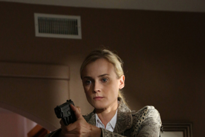 """THE BRIDGE - """"The Beast"""" - Episode 5 (Airs, Wednesday, August 7, 10:00 pm e/p) Pictured: Diane Kruger as Sonya Cross. CR: Byron Cohen/FX Network"""