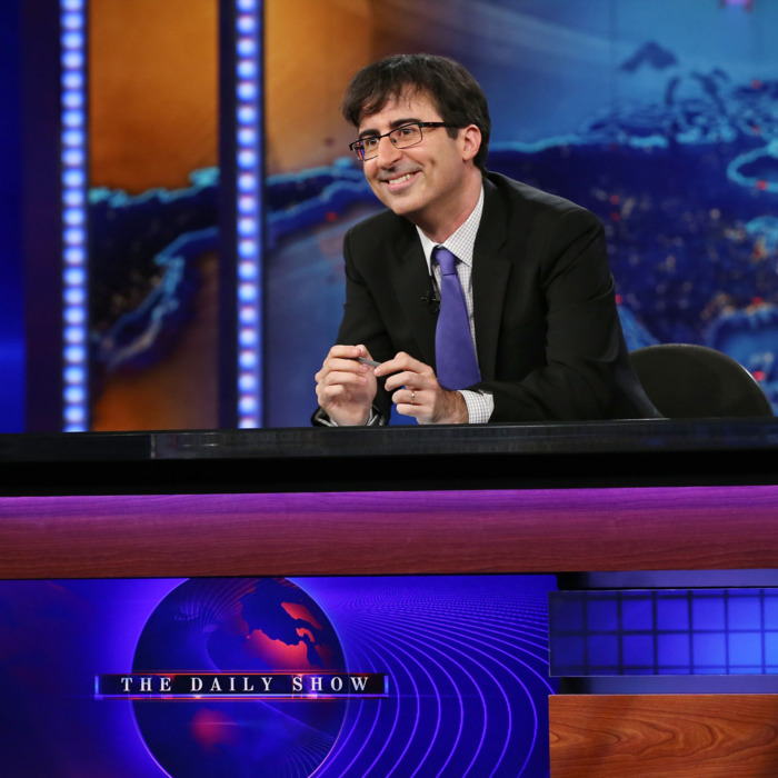 John Oliver takes over as summer guest host of
