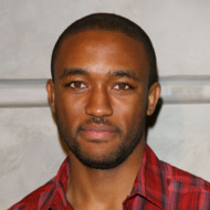 """Lee Thompson Young arrives to the Los Angeles premiere of """"Sleep Dealer"""" held at The Montalban Theatre on April 15, 2009 in Hollywood, California."""