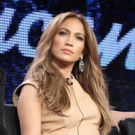 Producer Jimmy Iovine, musicians Steven Tyler, Jennifer Lopez, producer Randy Jackson and host Ryan Seacrest speak onstage during the 'American Idol' panel at the FOX Broadcasting Company portion of the 2011 Winter TCA press tour held at the Langham Hotel  on January 11, 2011 in Pasadena, California.