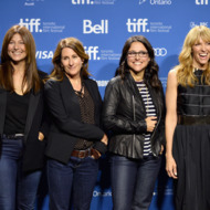 """TORONTO, ON - SEPTEMBER 08:  (L-R) Actress Catherine Keener, director Nicole Holofcener, actress Julia Louis-Dreyfus and actress Toni Collette attend """"Enough Said"""" Press Conference during the 2013 Toronto International Film Festival at TIFF Bell Lightbox on September 8, 2013 in Toronto, Canada.  (Photo by Alberto E. Rodriguez/Getty Images)"""
