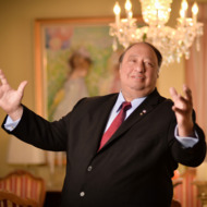 John Catsimatidis poses during a Resident Magazine photo shoot on June 18, 2013 in New York City.