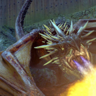 """The Hungarian Horntail Dragon in a scene from Warner Bros. Pictures' fantasy """"Harry Potter and the Goblet of Fire."""