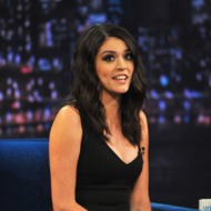 """NEW YORK, NY - FEBRUARY 19:  Cecily Strong visits """"Late Night With Jimmy Fallon"""" at Rockefeller Center on February 19, 2013 in New York City.  (Photo by Theo Wargo/Getty Images)"""