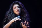 Lorde performs for fans on day 3 of the 2013 Splendour In The Grass Festival on July 28, 2013 in Byron Bay, Australia.