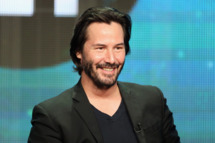 """BEVERLY HILLS, CA - AUGUST 06:  Host/producer Keanu Reeves speaks onstage during the """"Side by Side"""" panel at the PBS portion of the 2013 Summer Television Critics Association tour at the Beverly Hilton Hotel on August 6, 2013 in Beverly Hills, California.  (Photo by Frederick M. Brown/Getty Images)"""