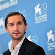 "US actor Shia Lebeouf poses during the photocall of ""The company you keep"" during the 69th Venice Film Festival on September 6, 2012 at Venice Lido. ""The company you keep"" is presented out of competition."
