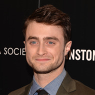 """NEW YORK, NY - SEPTEMBER 30:  Actor Daniel Radcliffe attends The Cinema Society and Johnston & Murphy screening of Sony Pictures Classics' """"Kill Your Darlings"""" at Paris Theater on September 30, 2013 in New York City.  (Photo by Andrew H. Walker/Getty Images)"""