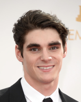 LOS ANGELES, CA - SEPTEMBER 22: Actor RJ Mitte arrives at the 65th Annual Primetime Emmy Awards held at Nokia Theatre L.A. Live on September 22, 2013 in Los Angeles, California. (Photo by Frazer Harrison/Getty Images)