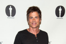 "Rob Lowe attends Academy Of Motion Picture Arts And Sciences Hosts A ""Wayne's World"" Reunion at AMPAS Samuel Goldwyn Theater on April 23, 2013 in Beverly Hills, California."