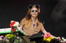 AUSTIN, TX - OCTOBER 05:  Claire Boucher aka Grimes performs onstage during Day 2 of the 2013 Austin City Limits Music Festival at Zilker Park on October 5, 2013 in Austin, Texas.  (Photo by Mike Windle/WireImage)