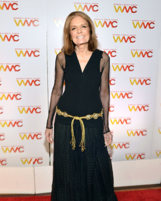 NEW YORK, NY - OCTOBER 08: Gloria Steinem attends the 2013 Women's Media Awards on October 8, 2013 in New York City. (Photo by Mike Coppola/Getty Images)
