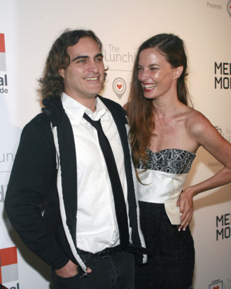 Joaquin Phoenix, Topaz Page-Green== The Lunchbox Fund Fall Fete and