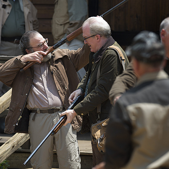 Mandy Patinkin as Saul Berenson and Tracy Letts as Senator Andrew Lockwood in Homeland (Season 3, Episode 05). - Photo: Kent Smith/SHOWTIME - Photo ID: Homeland_305_0845.R