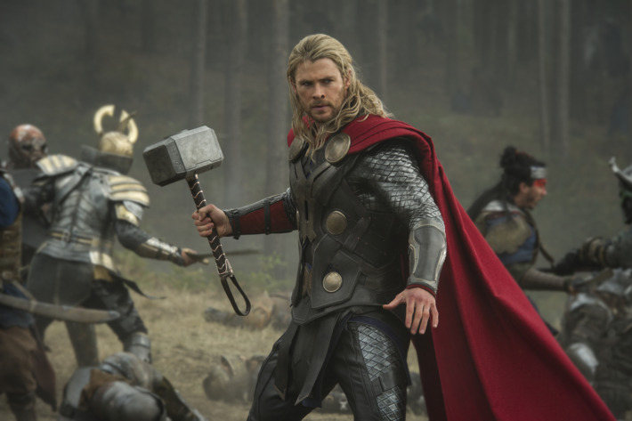 """Marvel's Thor: The Dark World""                  Thor (Chris Hemsworth)                  Ph: Jay Maidment                  ? 2013 MVLFFLLC.  TM & ? 2013 Marvel.  All Rights Reserved."