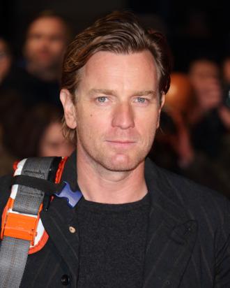 LONDON, ENGLAND - OCTOBER 18: Ewan McGregor attends a screening of
