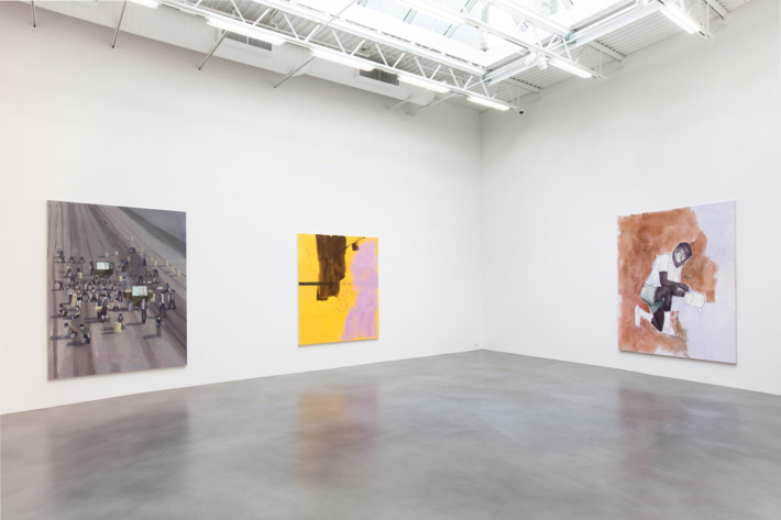 Thomas Eggerer, Installation view, Petzel, New York, 2013.