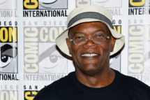 """SAN DIEGO, CA - JULY 20:  Actor Samuel L. Jackson attends Marvel's """"Captain America: The Winter Soldier"""" press line during Comic-Con International 2013 at the Hilton San Diego Bayfront Hotel on July 20, 2013 in San Diego, California.  (Photo by Ethan Miller/Getty Images)"""