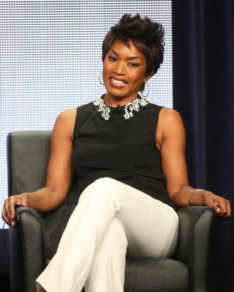 BEVERLY HILLS, CA - AUGUST 02: (L-R) Actress Angela Bassett speaks onstage during the